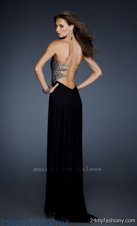 black prom dresses open back 2016-2017 » B2B Fashion