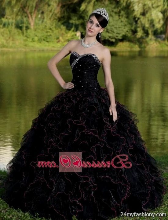 black quinceanera dresses 2016-2017 | B2B Fashion