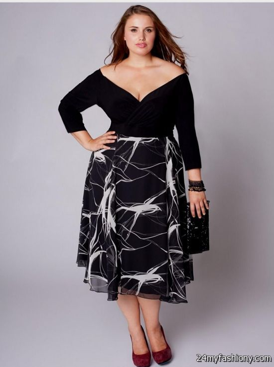 Black Semi Formal Dresses Plus Size 2016 2017 B2b Fashion