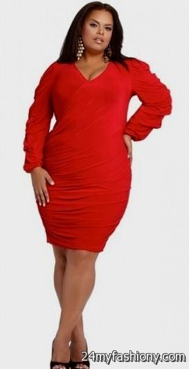 Black and Red Women's Cocktail Dresses