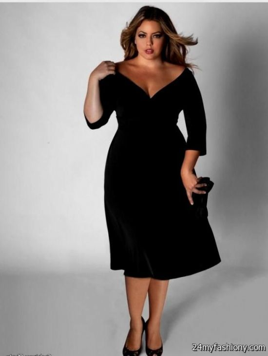 Black Semi Formal Dresses Plus Size Looks B2b Fashion