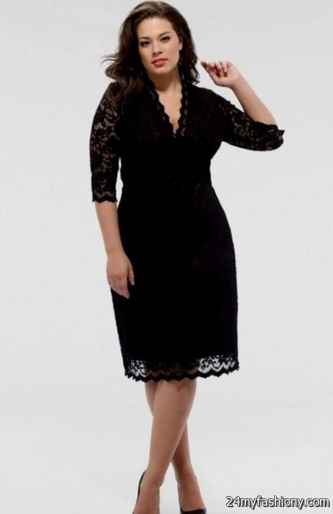 black semi formal dresses plus size looks | B2B Fashion