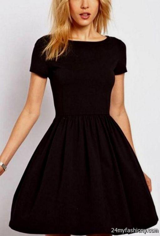 Black Short Dress Casual Looks B2b Fashion
