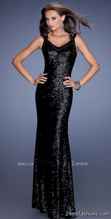 Black Sparkly Prom Dress Photo Album - Reikian