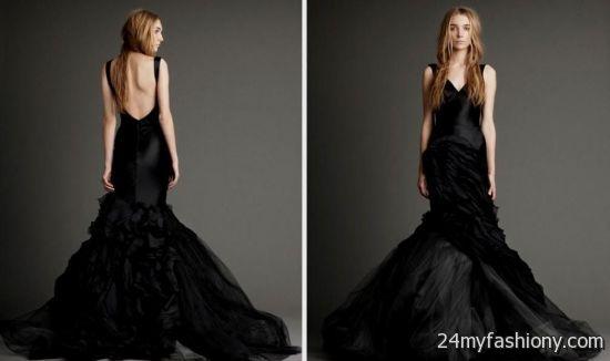 Black Wedding Dresses 2016