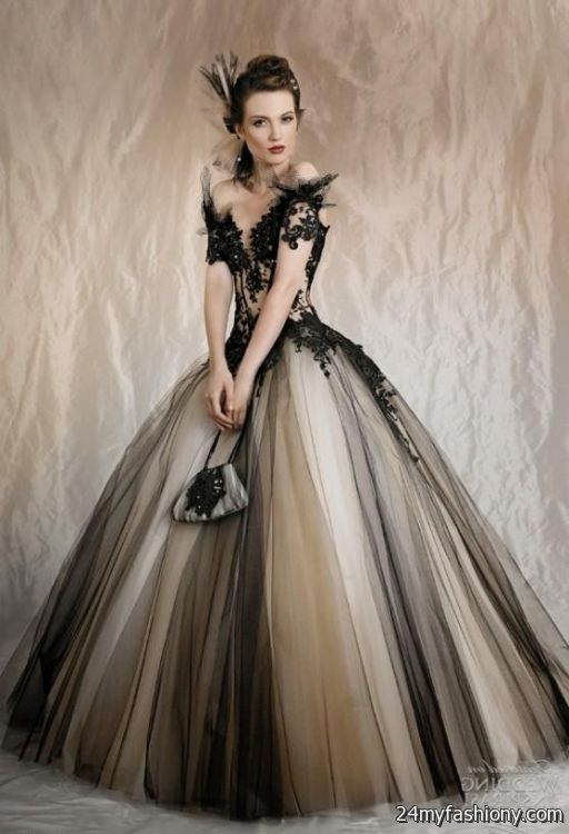 Black Wedding Dress Looks B2b Fashion