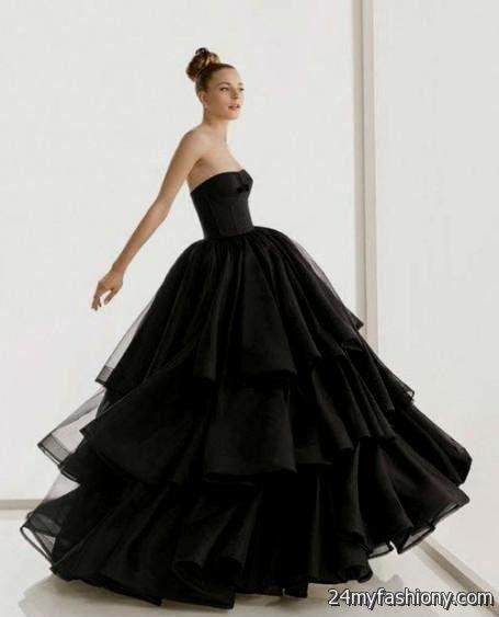 black wedding dress tumblr looks | B2B Fashion