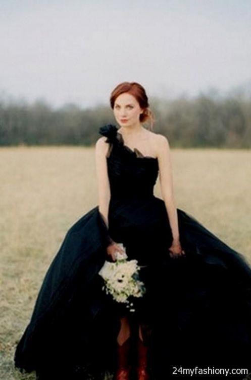black wedding dresses vera wang 2016-2017 | B2B Fashion