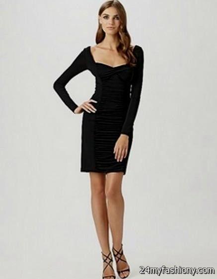 Winter formal black dress