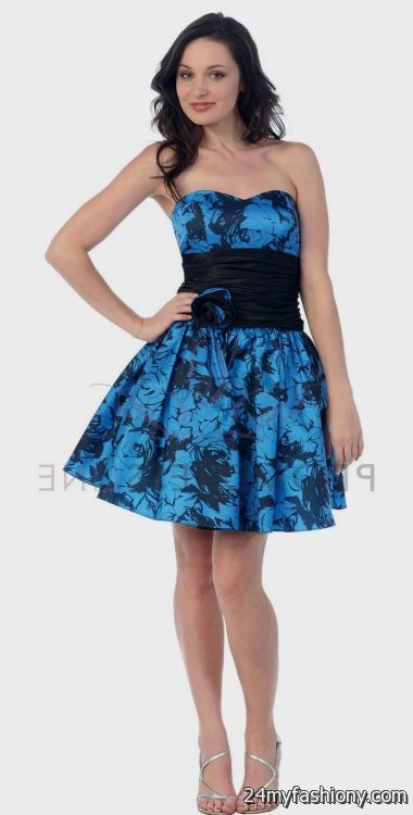 blue and black homecoming dresses 2016-2017 » B2B Fashion