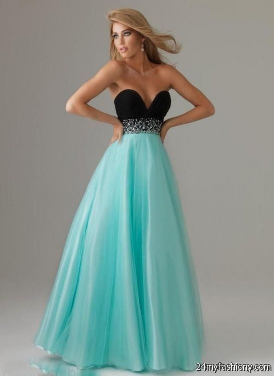blue and black prom dresses with straps 2016-2017 » B2B Fashion