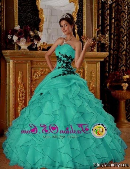 Blue And Black Quinceanera Dresses Looks B2b Fashion
