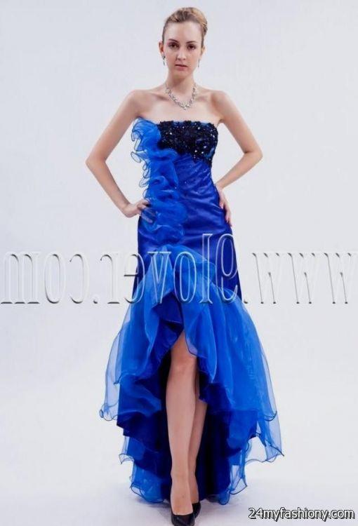 blue and black wedding dress 2016-2017 » B2B Fashion