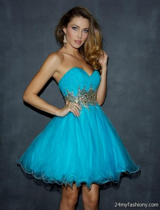 blue cocktail dresses for prom 2016-2017 | B2B Fashion
