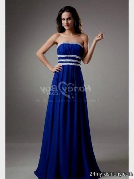 Blue Designer Prom Dresses - Missy Dress