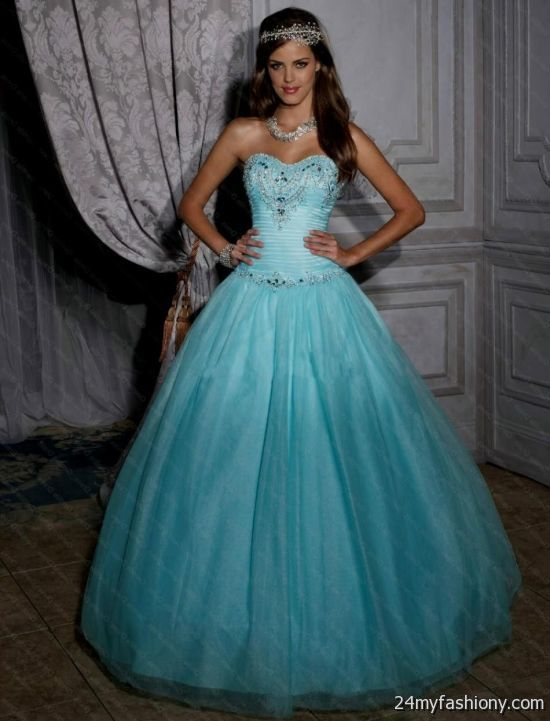 Blue Dresses For Sweet 16 2016 2017 B2B Fashion