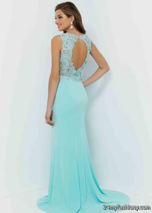 blue fitted prom dresses 2016-2017 » B2B Fashion