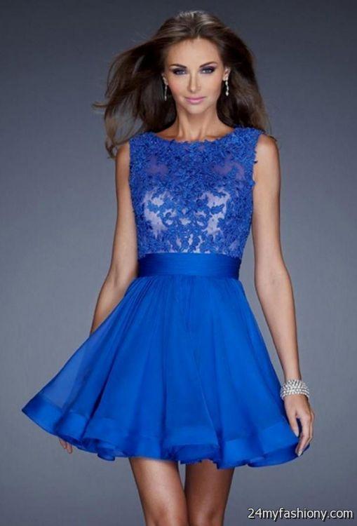 blue homecoming dresses 20162017 b2b fashion