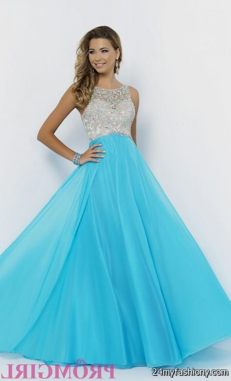 blue prom dresses with straps 2016-2017 » B2B Fashion