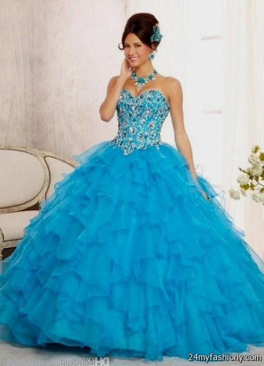 blue quinceanera dresses 2016-2017   B2B Fashion