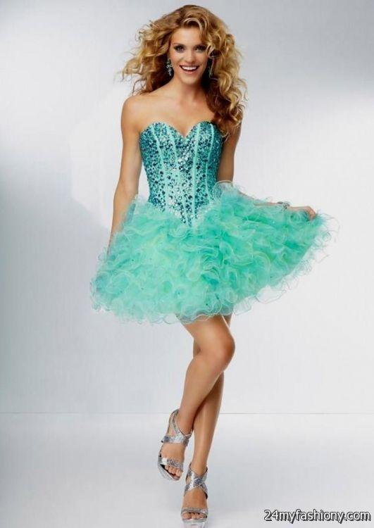 fda30b81a blue winter formal dresses for teenage girls looks