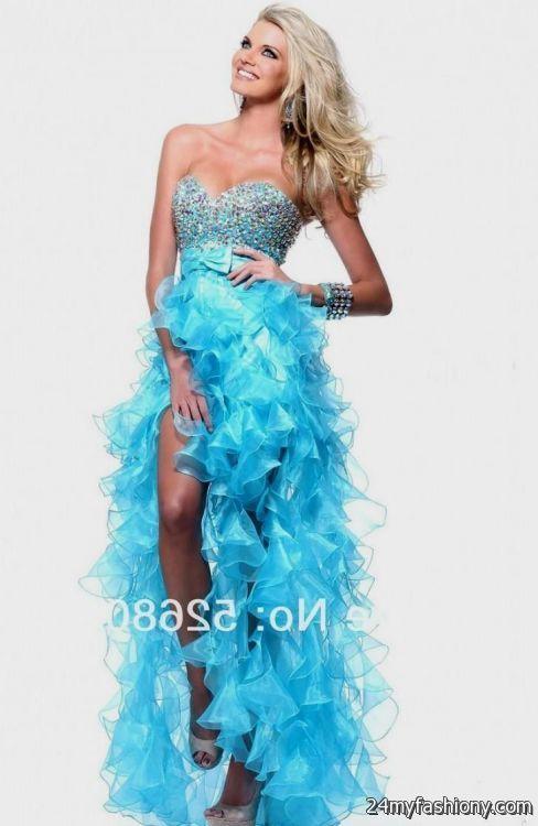 Aqua Winter Formal Dresses