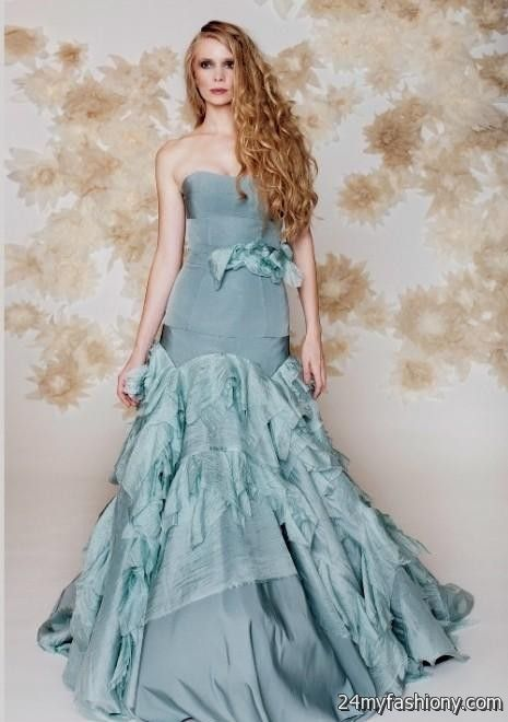 Blue winter wedding dresses 2016 2017 b2b fashion for Light blue wedding dress meaning