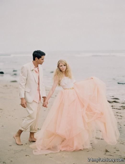 Blush Beach Wedding Dress 20162017 B2B Fashion - Blush Beach Wedding Dress
