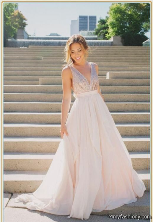 blush beach wedding dress 2016-2017 | B2B Fashion