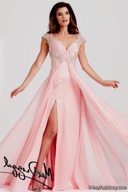 blush colored prom dress 2016-2017   B2B Fashion