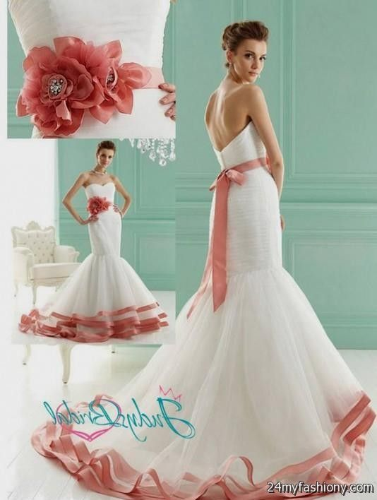blush pink mermaid wedding dress 20162017 b2b fashion