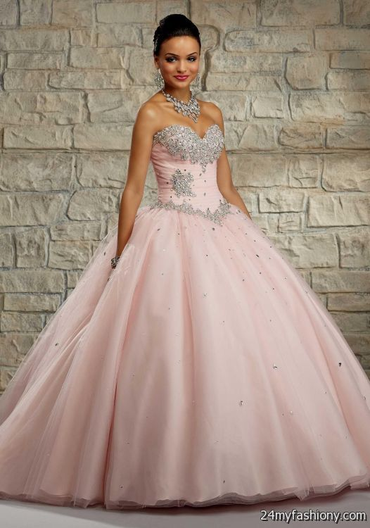 blush pink quinceanera dresses 2016-2017
