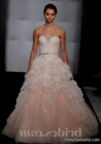 0be5d24f66200 blush pink wedding dress say yes to the dress looks   B2B Fashion