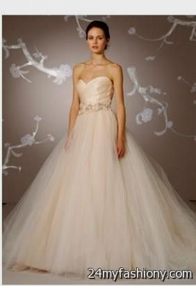 blush pink wedding dress say yes to the dress looks | B2B Fashion