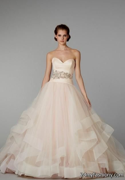 blush pink wedding dresses 2016-2017 » B2B Fashion