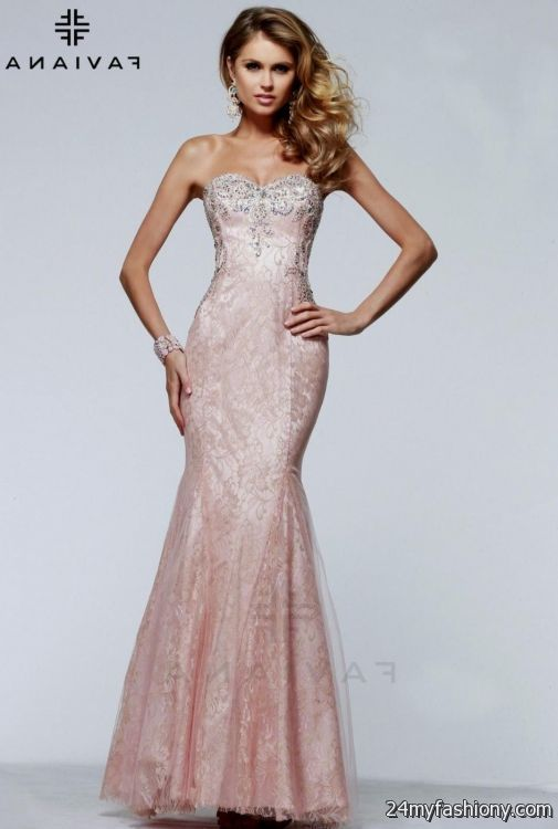 blush prom dress 2016-2017   B2B Fashion