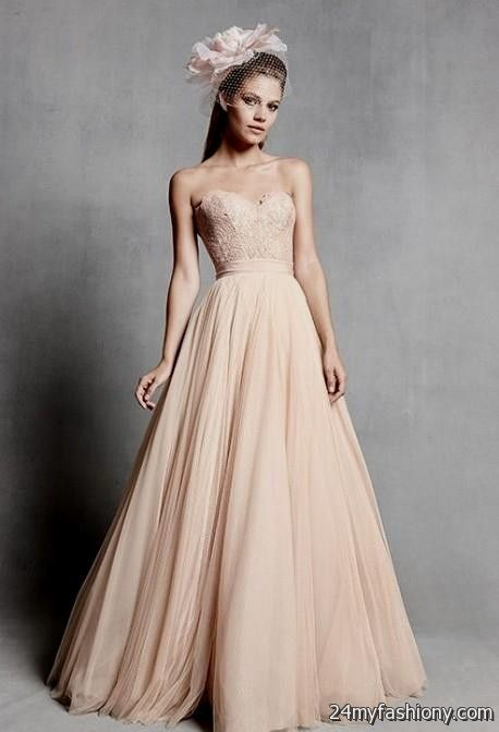 blush wedding dresses 2016-2017 | B2B Fashion