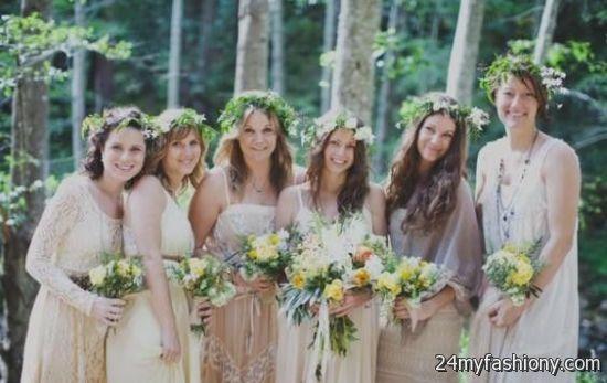 bohemian bridesmaid dresses different styles 20162017