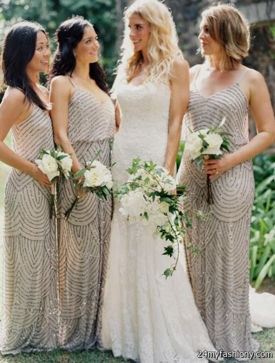 bohemian bridesmaid dresses different styles 20162017