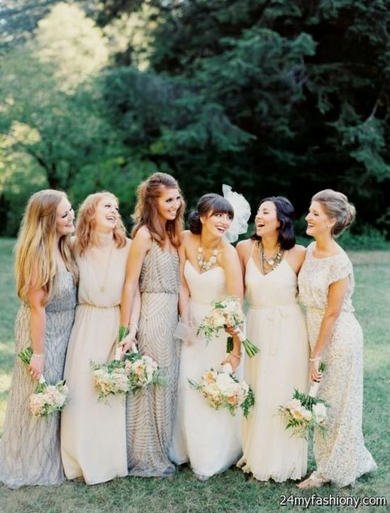 3 style bridesmaid dresses bohemian