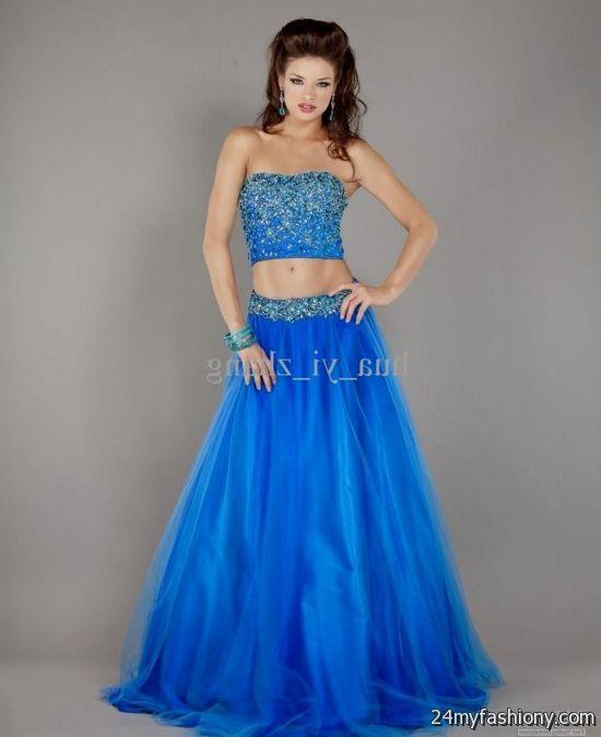 Bright Blue Prom Dresses Looks B2b Fashion