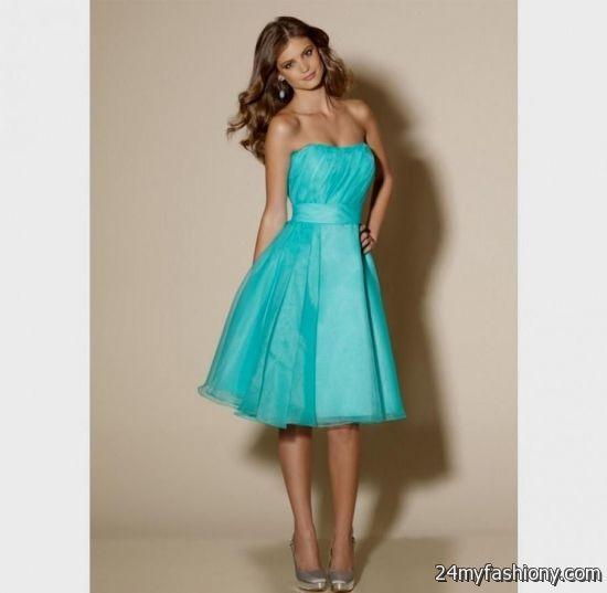 Turquoise Bridal Dresses