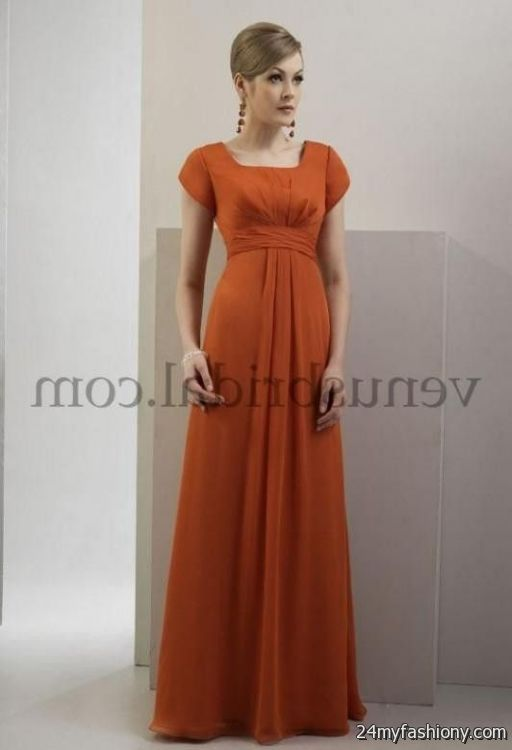 burnt orange chiffon bridesmaid dresses 2016-2017 » B2B Fashion