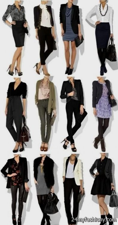 Business casual clothes for young women