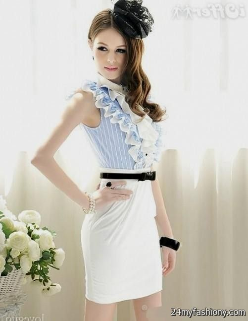You can share these business formal dress women on Facebook 8464ea823