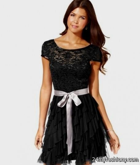 Casual Black Dress For Juniors Looks B2b Fashion