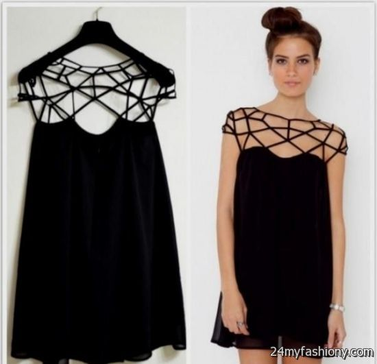 e92031245e881b You can share these casual black dress outfit summer on Facebook