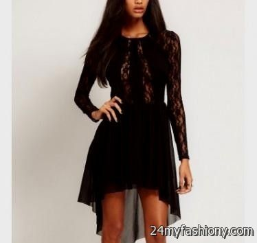 Casual black dress outfit tumblr 2016-2017 | B2B Fashion