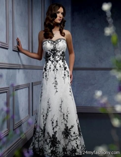Casual colored wedding dresses 2016 2017 b2b fashion for Black and white dresses for wedding guests