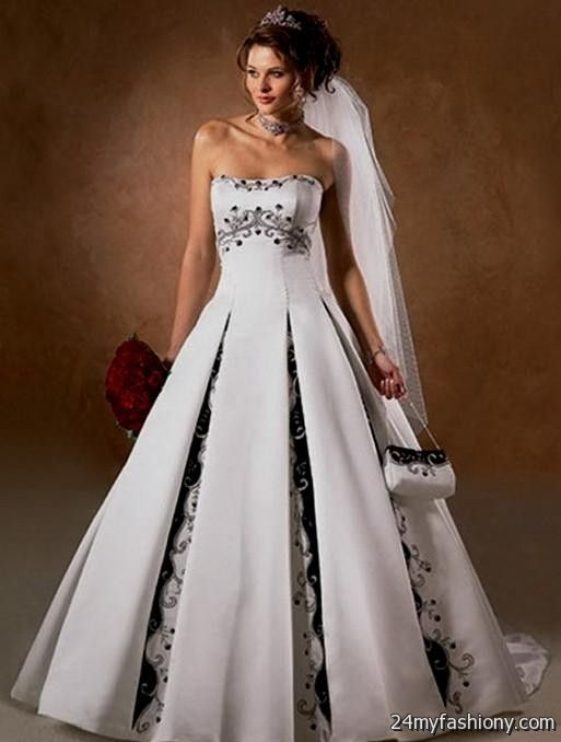 casual colored wedding dresses 2016 2017 b2b fashion With colored wedding dresses 2017